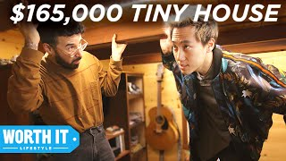 Download $50,000 Tiny House Vs. $165,000 Tiny House Mp3 and Videos