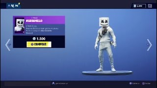 New Skin * MARSHMELLO * and new dances-Fortnite Battle Royale