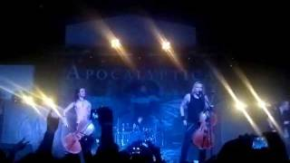 Inquisition Symphony - Apocalyptica - 7th Symphony World Tour 2012 - Costa Rica