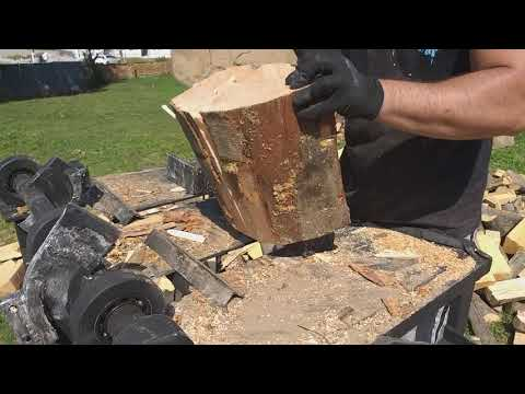 Wood Splitting machine(DIY).