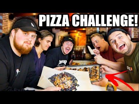 EXTREM PIZZA CHALLENGE MED 154!!