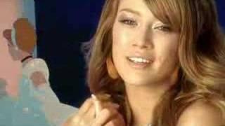 ディズニーモバイル  Hilary Duff  Disney Mobile   2008 6月 CM
