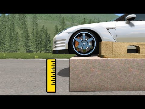How High can you safely Jump your Car in Beamng drive?