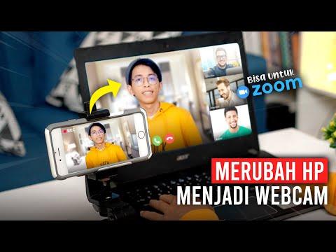 Cara Merubah Hp Menjadi Webcam untuk Zoom di PC / Laptop - DROIDCAM TUTORIAL