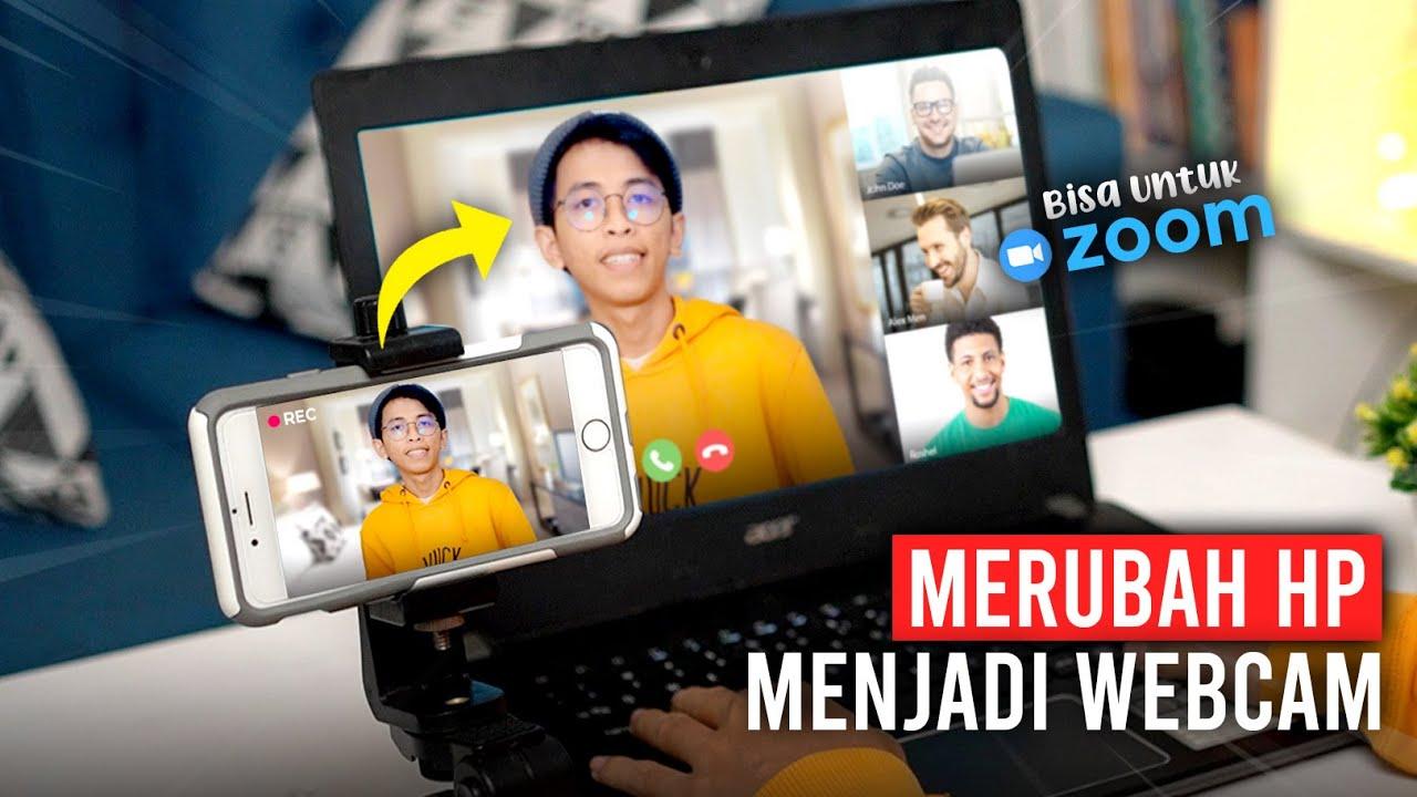 Cara Merubah Hp Menjadi Webcam Untuk Zoom Di Pc Laptop Droidcam Tutorial Youtube