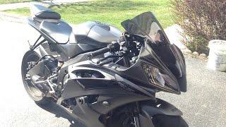 2016 Yamaha R6 M4 Street Slayer Full System Exhaust Sound Test