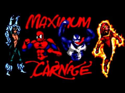 Spider-Man And Venom: Maximum Carnage прохождение (Sega Mega Drive, Genesis)