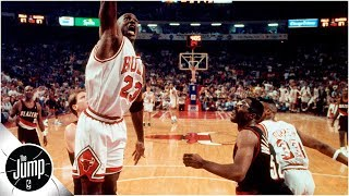 Michael Jordan, Allen Iverson and the best missed free throw dunks ever   The Jump