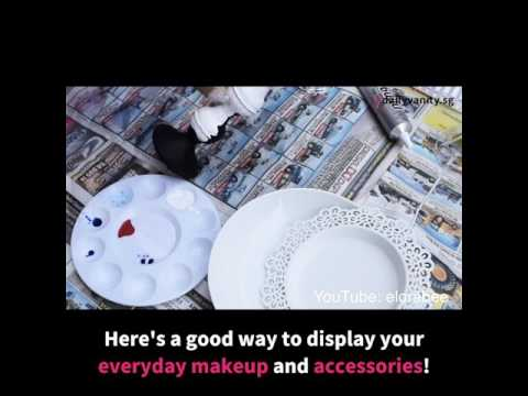 Makeup Organisation Hacks | Daily Vanity