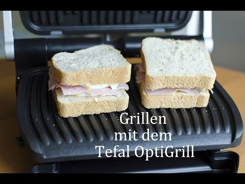 grillen mit dem tefal optigrill youtube. Black Bedroom Furniture Sets. Home Design Ideas