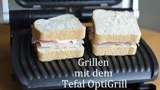 Grillen mit dem Tefal OptiGrill / andysparkles