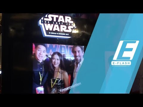 Nana Mirdad-Andrew White Nonton 'Star Wars: The Last Jedi' di LA