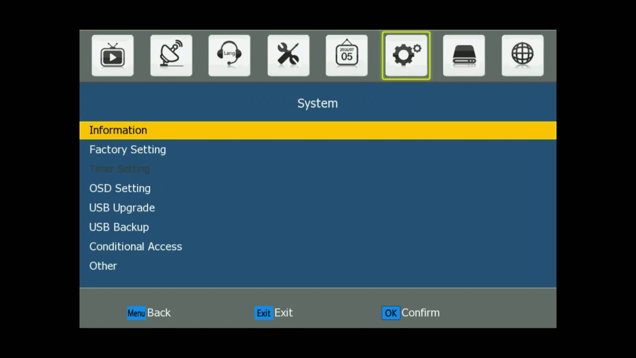 dvb t2 s2 combo with powervu and IPTV