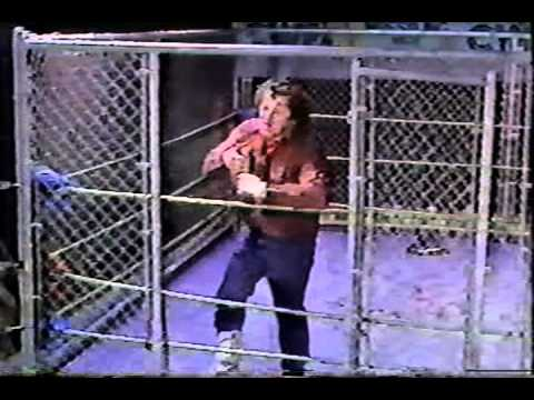 Terry Funk Empty Arena Cage Match