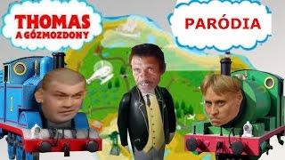 Thomas a gőzmozdony - PARÓDIA
