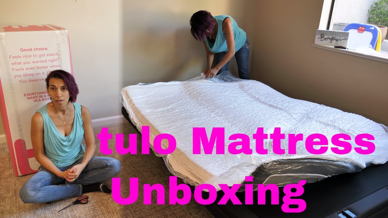best service 9a237 7ff36 My twin & I do a tulo Mattress Unboxing (you can test one at any Mattress  Firm location)