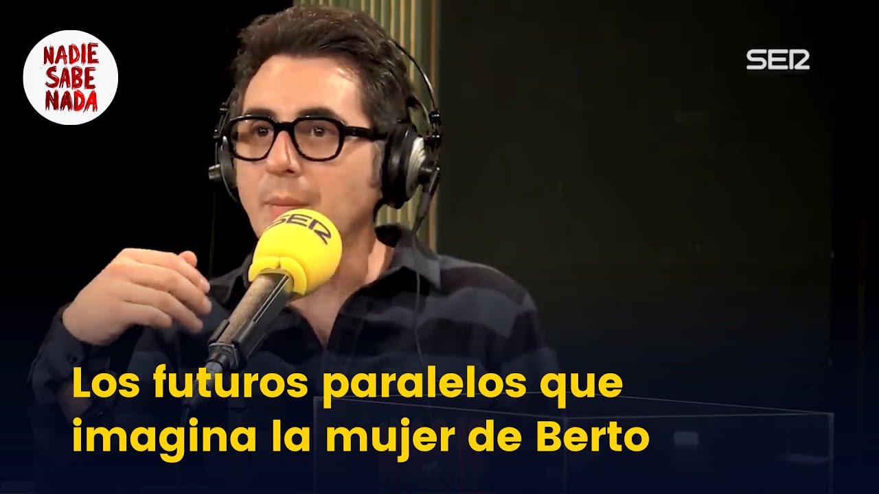 Los futuros paralelos que imagina la mujer de Berto Romero