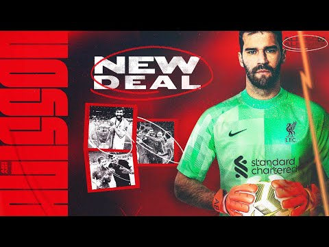 Alisson Becker agrees new deal with Liverpool | 'We're together as one, on and off the pitch'