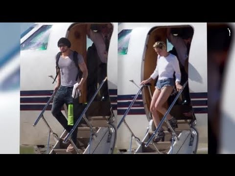 Miley Cyrus and Kellan Lutz Share the Same Private Jet | Splash News TV | Splash News TV