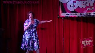 Justine Smith The Sit Down Comedy Club - The Bachelor