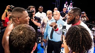 Heavyweight Champ Deontay Wilder calls out Luis Ortiz