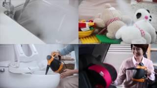 바로바로 스팀청소기 홍보영상