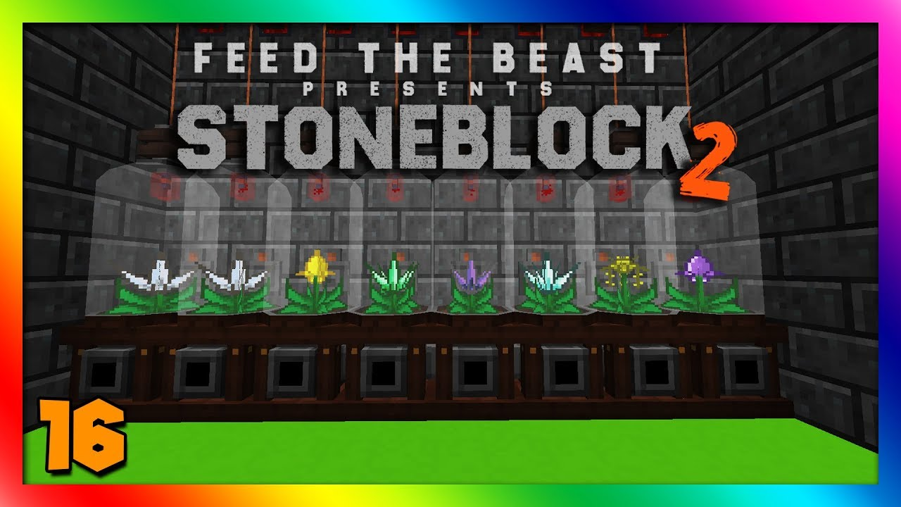 Stoneblock 2 Modpack - Mystical Agriculture Automation! Episode 16 [Modded  Minecraft 1 12 2]