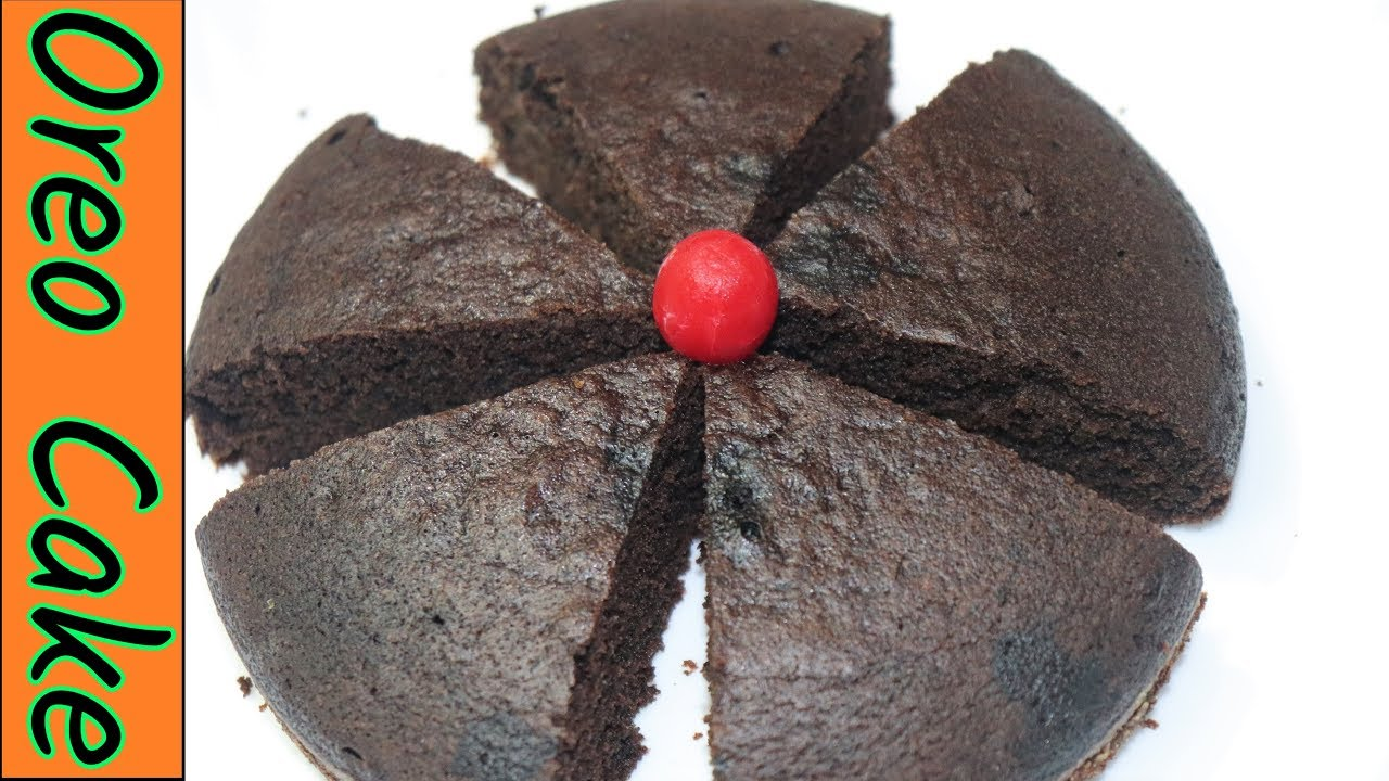 Oreo Cake Recipe | Oreo Biscuit Cake | Without Oven | Kids ...