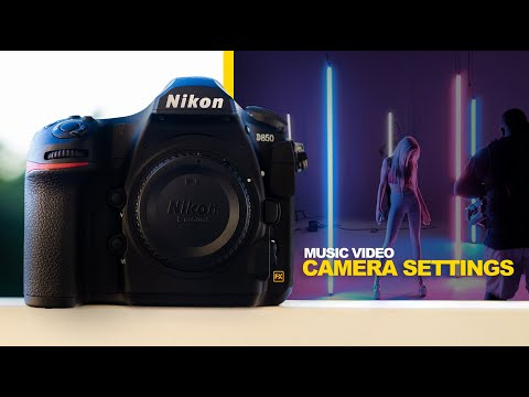 The Best Camera Settings for a Music Video - Tutorial