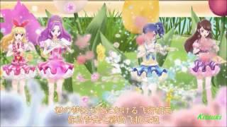 【HD】Aikatsu! - episode 28 - Ichigo & Aoi & Ran vs Mizuki - Shining Sky of The G String