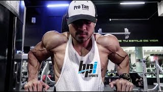 Un dia en mi Vida I Triceps Biceps I Dieta I Ismael Martinez I IFBB PRO I Golden State a 7 dias
