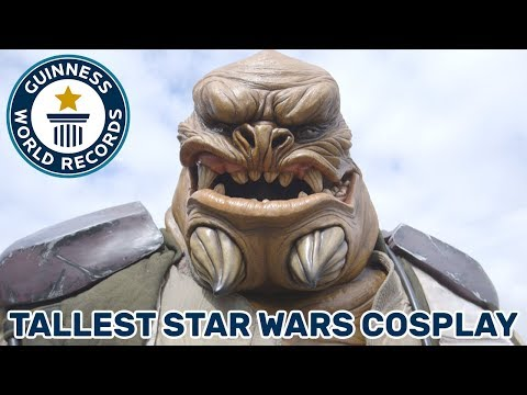 Tallest Star Wars Cosplay – Guinness World Records