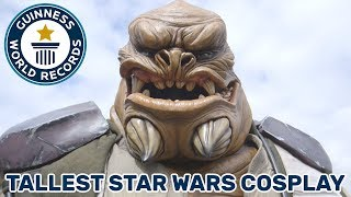 Tallest Star Wars Cosplay - Meet the Record Breakers