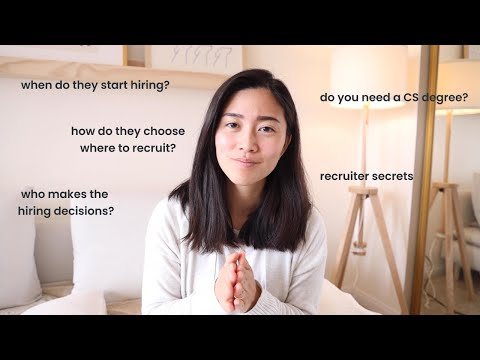 How recruiting works in the Tech Industry