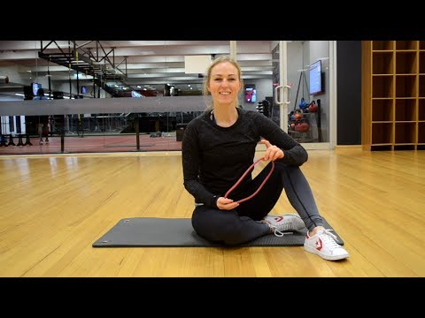Supine Banded Hip Extension