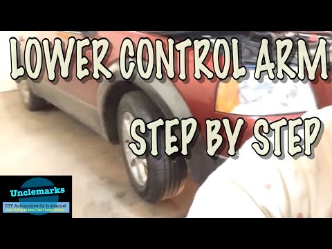 how to replace lower control arms on a 2007 ford freestyle pt1