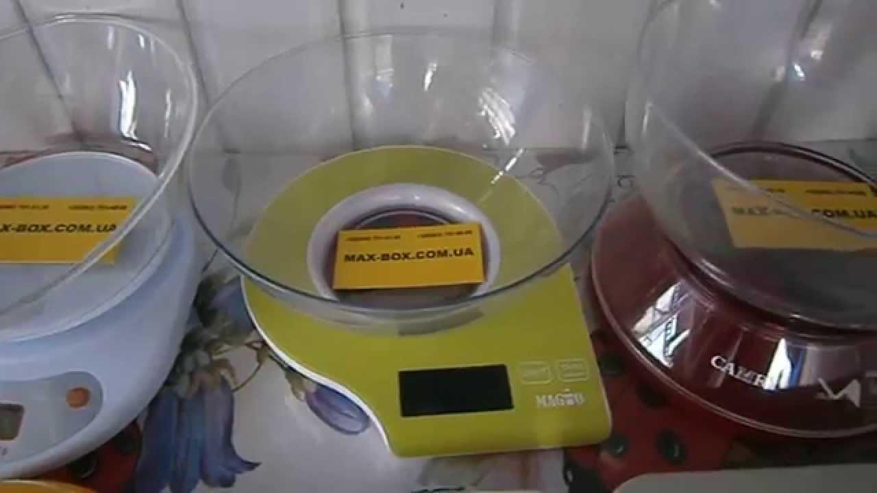 Весы кухонные Витек до 10 кг. - YouTube