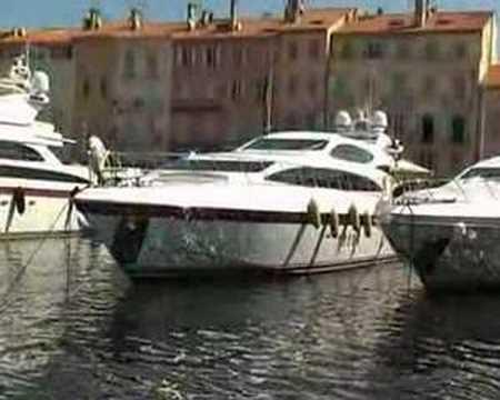St Tropez Harbour & Yachts/Super Yachts