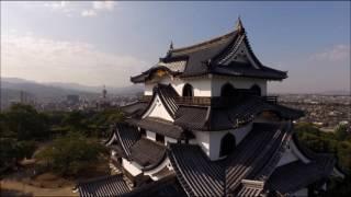 国宝彦根城の空撮映像です。平成28年に開催された「井伊直弼公生誕200年...