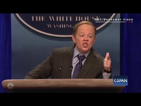 Thumbnail: Melissa McCarthy channels Sean Spicer on SNL
