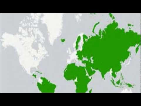 Unrecognised Countries maps