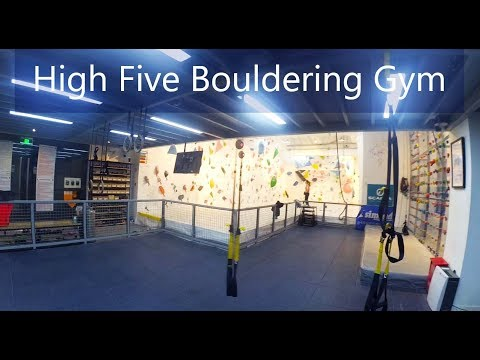 [Vlog] Bouldering in Shanghai High 5 gym