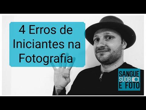Dicas de fotografia 4 - Lista com erros mais frequentes de quem está iniciando na fotografia