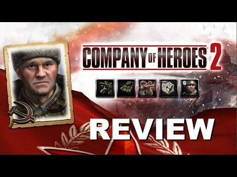 Company of Heroes 2 [2vs2] Soviet Commander: Counterattack Tactics  (Review)   GER Full-HD