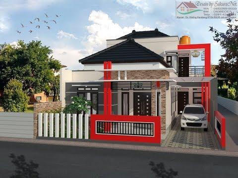 Rumah Minimalis Lantai 2 Modern House 10x17