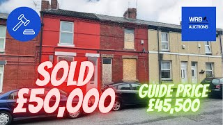 🔥 SOLD SOLD SOLD 🔥WRB Auctions - 32 Warton Street L20 4PX - Auction 30th September