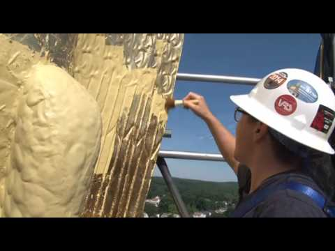 Gilding, New Hampshire State House Eagle