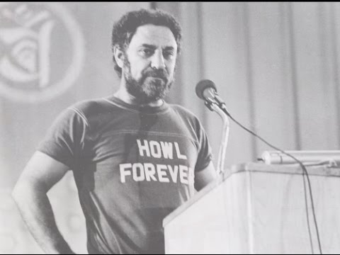 Abbie Hoffman -- cool tribute & funny stories from the Jack Kerouac Summit in Boulder '82
