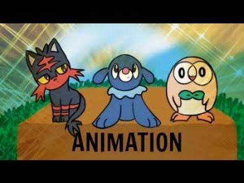 Pokemon Sun and Moon Parody Animation