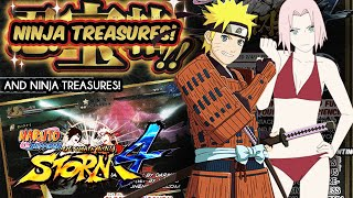 Naruto Storm 4 Ninja Treasures, Adventure Mode Free Roam, Story Mode, Online and Costumes Scan